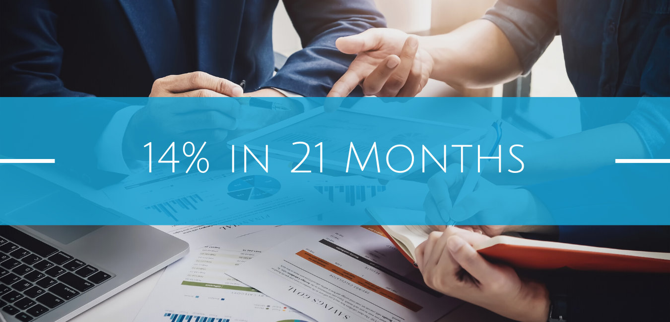 Clients To Receive 14% Cash Returns in 1 Year 9 Months