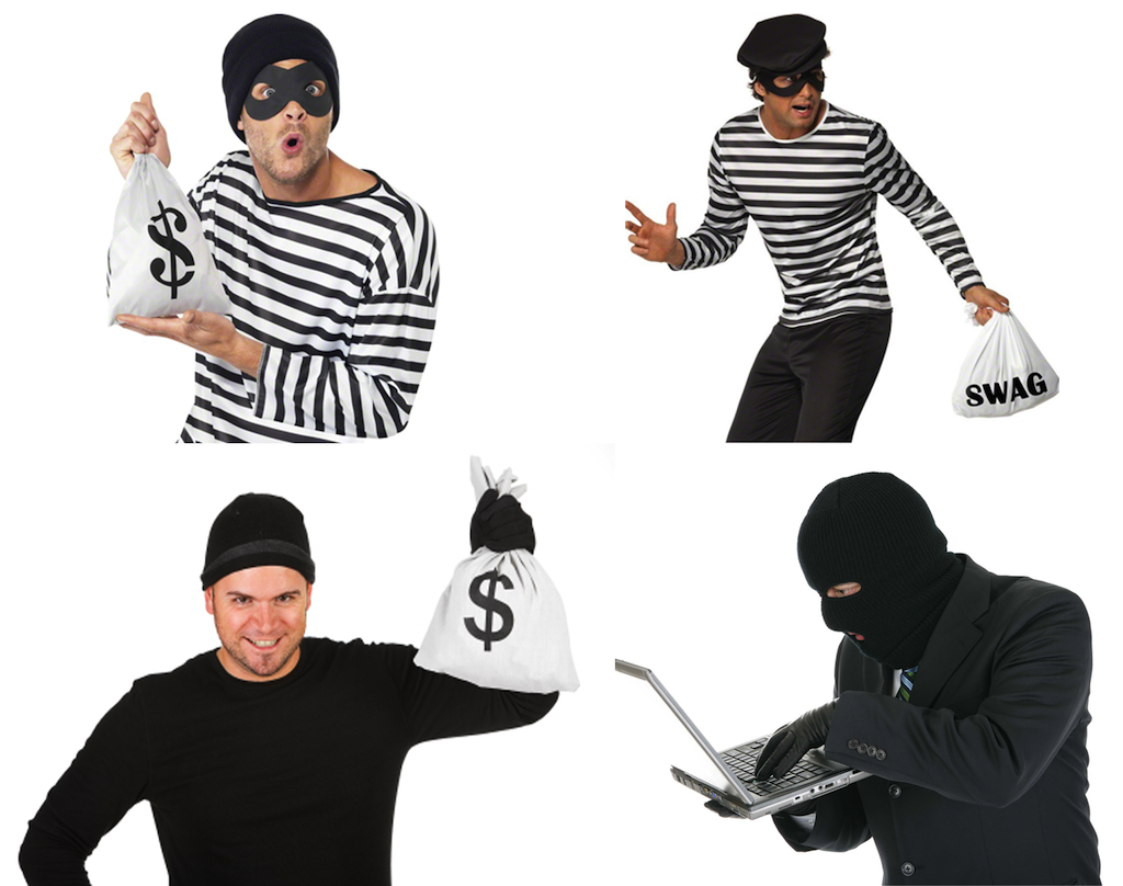4 investment robbers, and how to deal with them