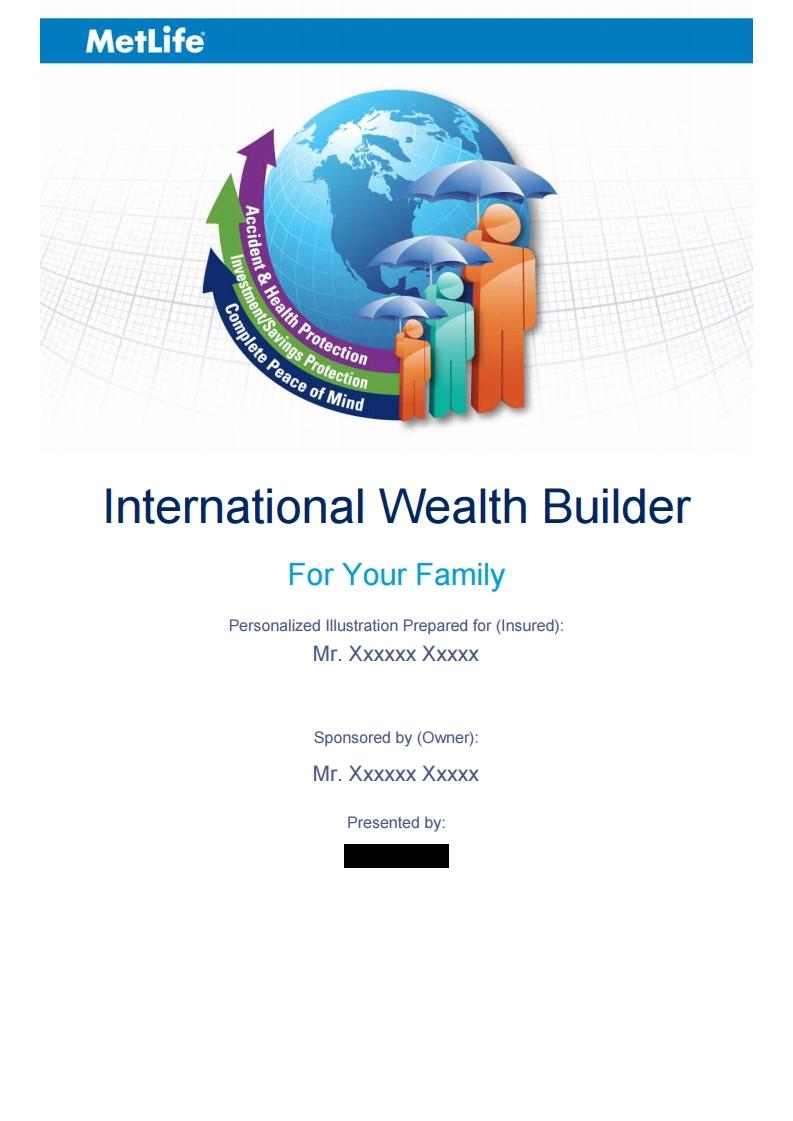 Metlife Wealth Builder Quote